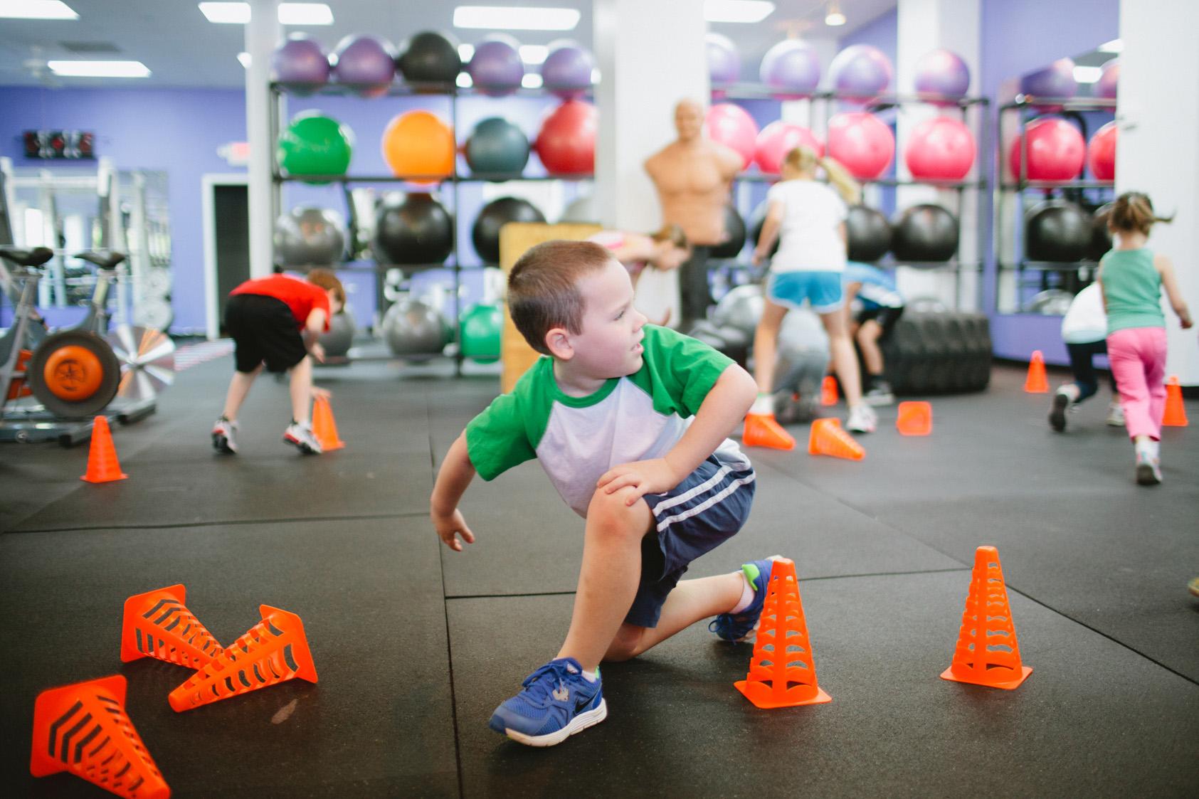 Фитнес для детей — это интересно и полезно