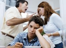 Конфликты в семье: причина в школе
