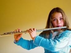 Ребенок и флейта – занятия с интересом