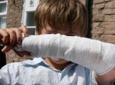 Где травмируются наши дети?